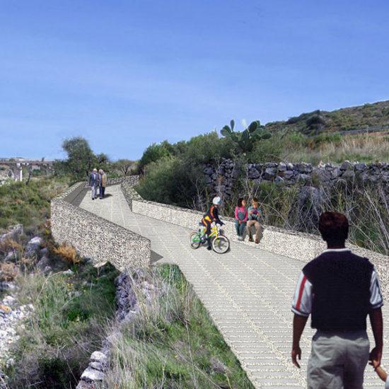 Recuperación márgenes Río Gorgos. Arquitectos Alicante. Eneseis Arquitectura