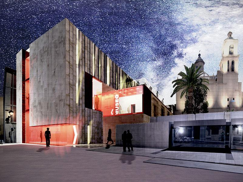 Concatedral San Nicolás. Edificio dotacional. Arquitectos Alicante. Eneseis Arquitectura