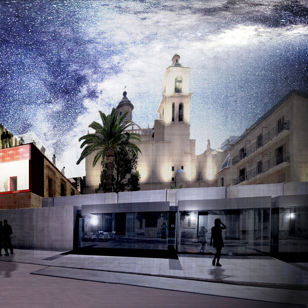Rehabilitación Concatedral San Nicolás. Edificio dotacional. Arquitectos Alicante. Eneseis Arquitectura