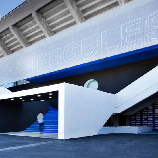 Reforma del Estadio Rico Pérez. Arquitectos Alicante. enesis Arquitectura