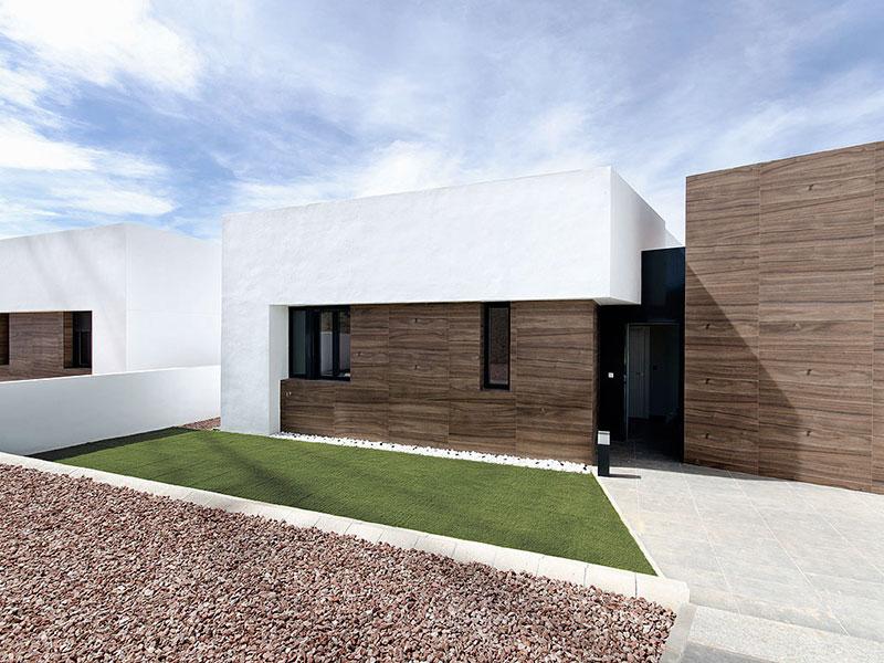 Vivienda Unifamiliar. Casas La Finca. Casa moderna en Campo de Golf. Arquitectos Alicante. eneseis Arquitectura
