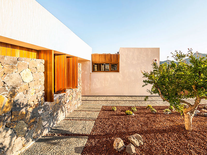 Vivienda Unifamiliar. Casa Semienterrada. Casa ecológica en Alicante. Arquitectos Aspe. Arquitectos Alicante. eneseis Arquitectura