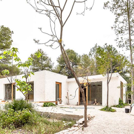 Vivienda Unifamiliar. Casa Reciclada. Casa ecológica. Arquitectos Guadalest. Arquitectos Alicante. eneseis Arquitectura