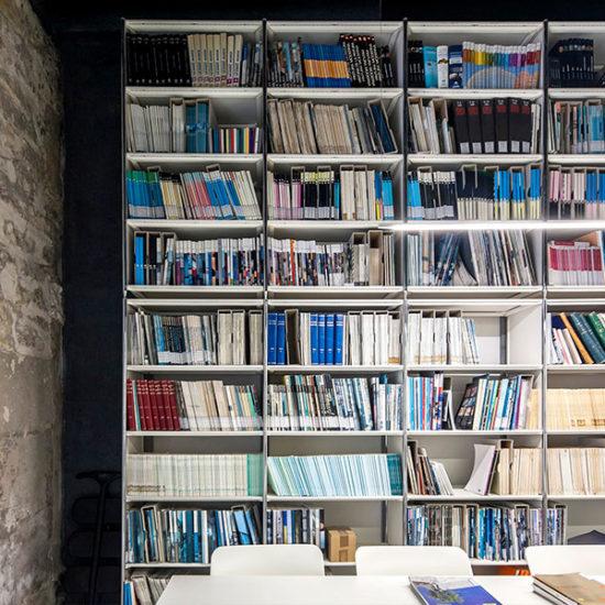 Biblioteca CTAA. Arquitectos Alicante. eneseis Arquitectura