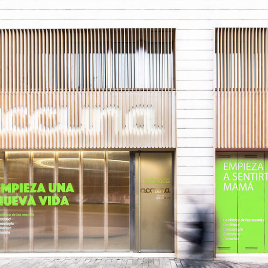 Interiorismo Comercial. Clínica Accuna. Arquitectos Alicante. eneseis Arquitectura