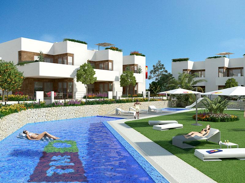 Residencial Secreto de la Zenia. Viviendas Adosadas. Arquitectos Alicante. eneseis Arquitectura