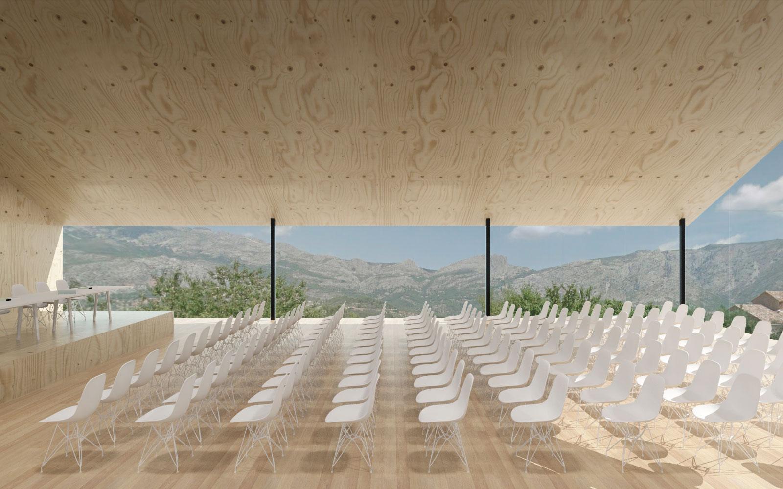 Centro Cultural Multidisciplinar. Arquitectos Benimantell. Arquitectos Alicante. eneseis Arquitectura