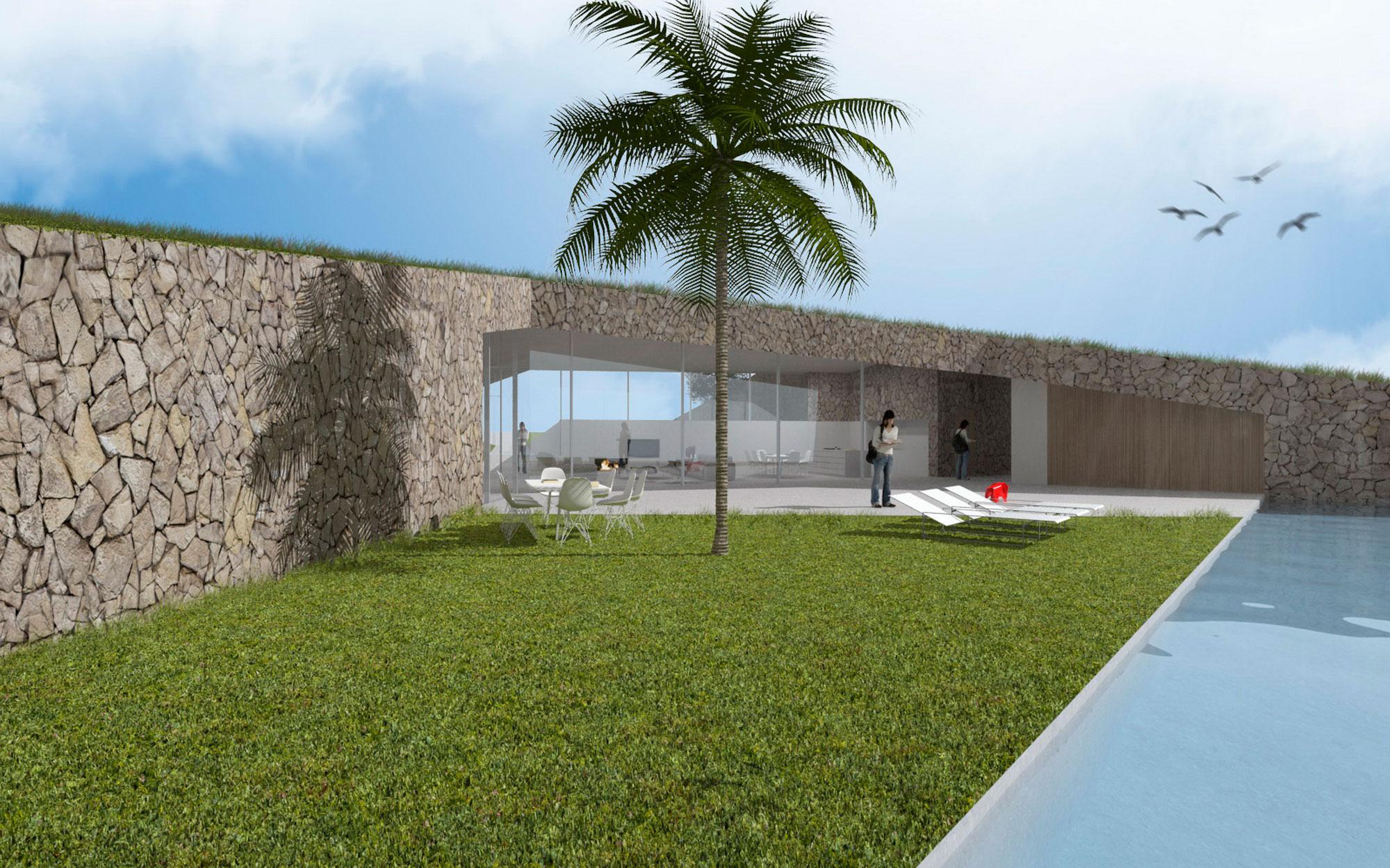 Vivienda Unifamiliar. Casa entorno. Casa ecológica. Arquitectos Alicante. eneseis Arquitectura