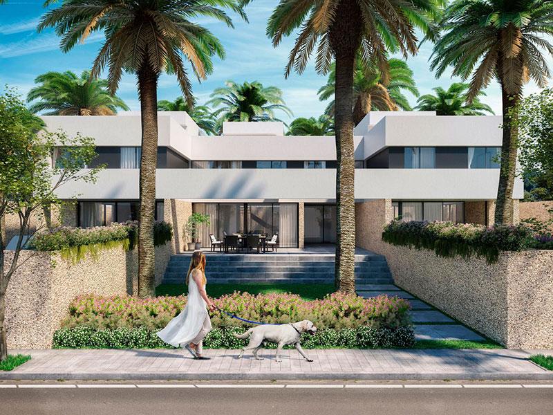 Residencial Boreal. Viviendas Adosadas. Arquitectos Alicante. eneseis Arquitectura