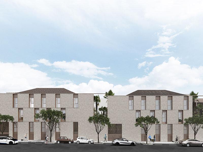 Residencial Canyaret. Bloque Viviendas San Juan. Arquitectos Alicante. eneseis Arquitectura