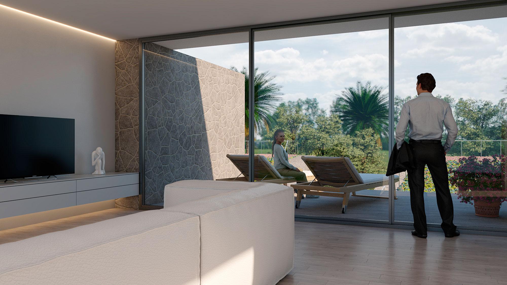 Residencial Boreal 2. Viviendas Adosadas. Arquitectos Alicante. eneseis Arquitectura