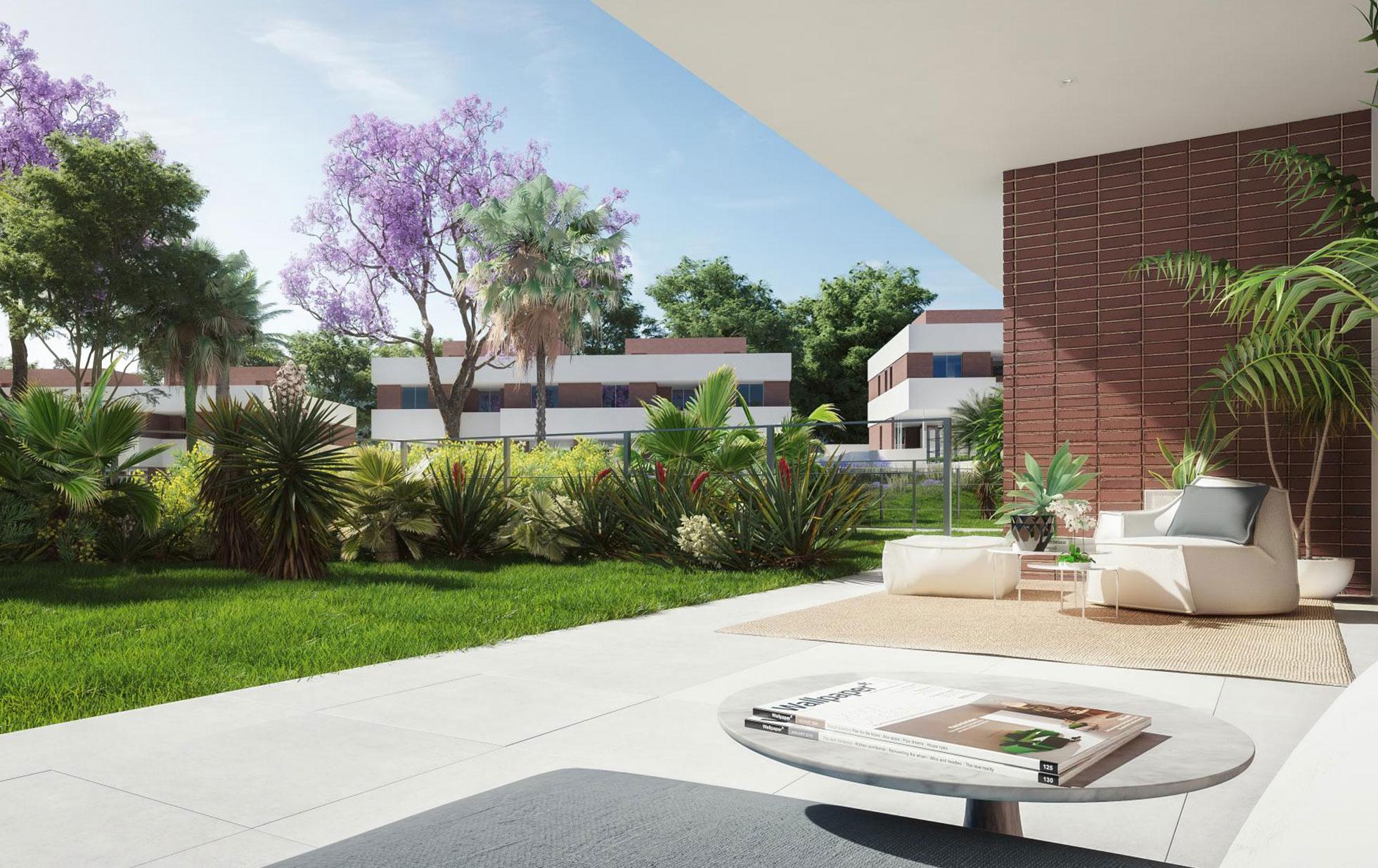 Residencial Santa Clara. Viviendas Pareadas. Arquitectos Alicante. eneseis Arquitectura