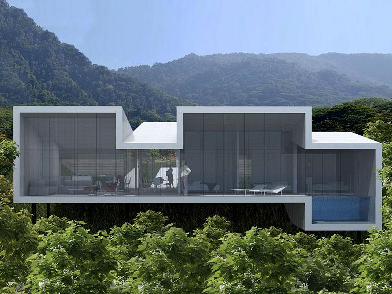 Complejo turistico Costa Rica. Arquitectos. eneseis Arquitectura