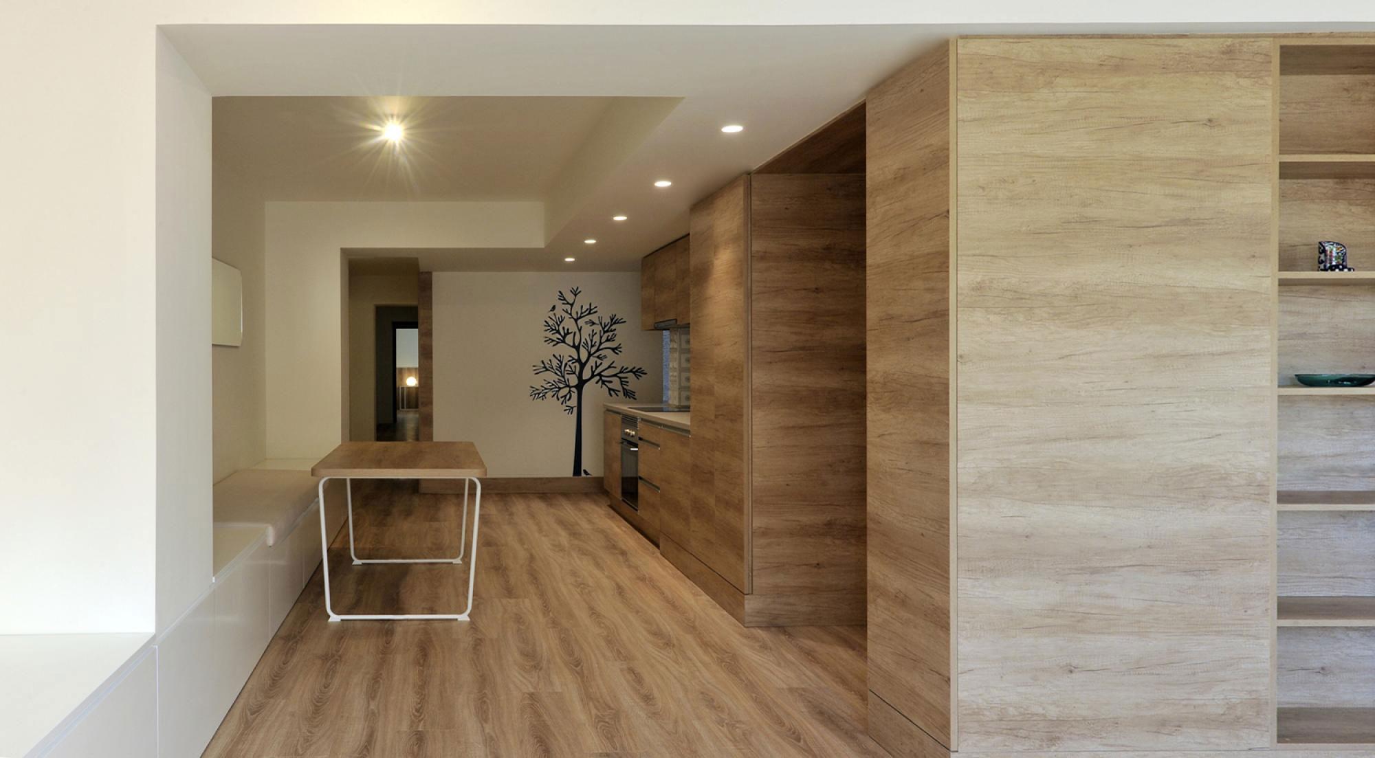 Reforma casa Alquiler Alicante. Interiorismo. Eneseis Arquitectura