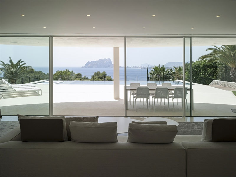 Reforma y diseño interior de casa en Moraira. eneseis Arquitectura