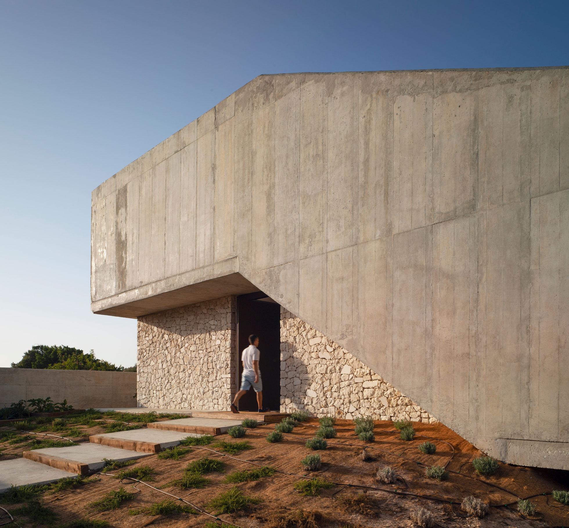 Vivienda unifamiliar. Casa Golf. Casa moderna en Playa de San Juan alicante. Arquitectos Alicante. Arquitectos Costa Blanca. eneseis Arquitectura