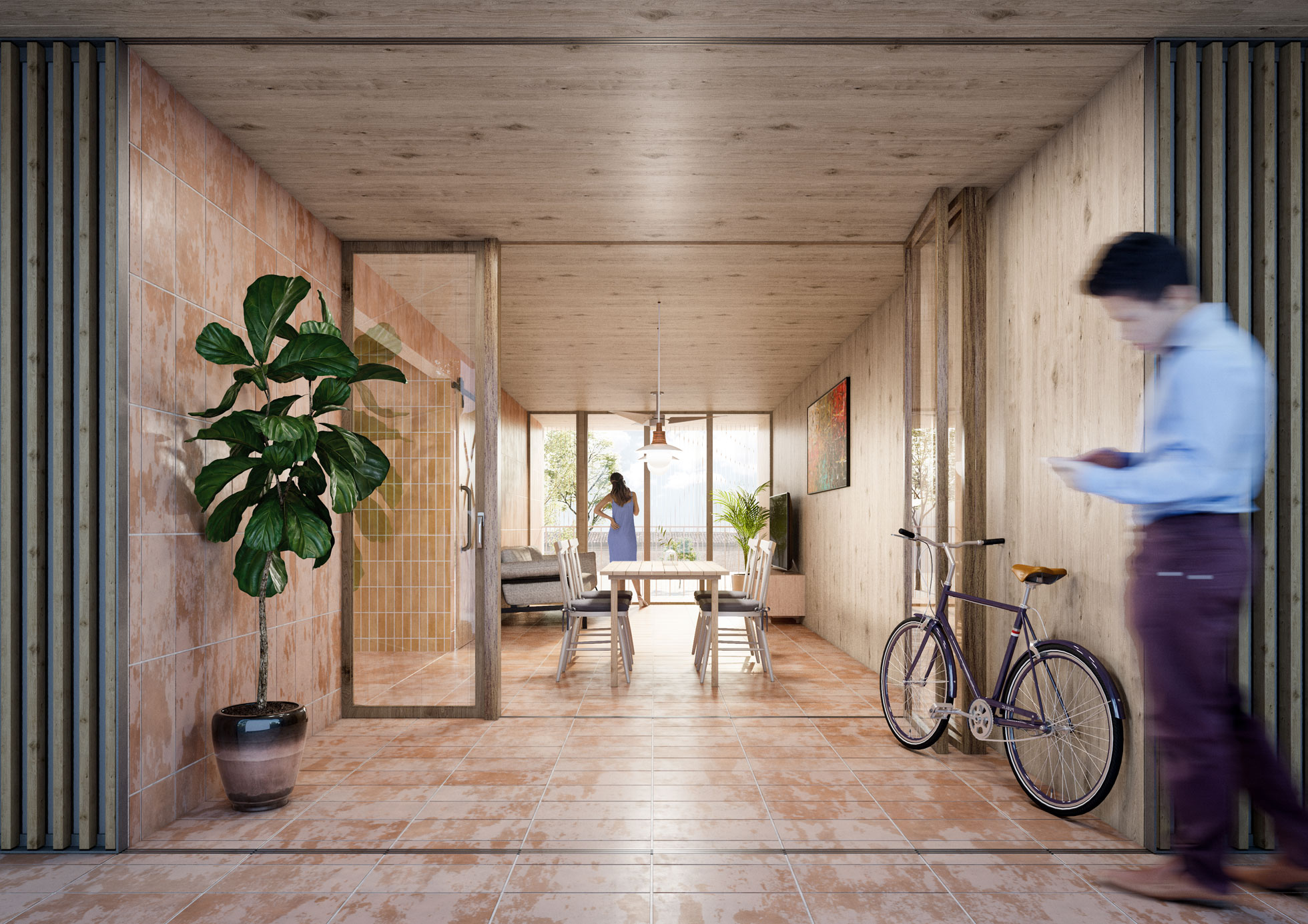 Residencial L'Ordit. Edificio de viviendas. Arquitectos Alicante. Arquitectos en Palma de Mallorca. eneseis Arquitectura